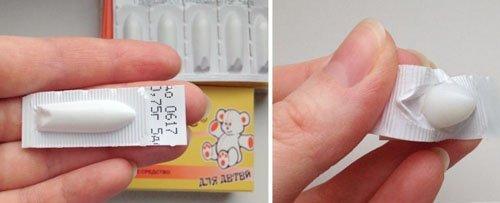 Гліцеринові свічки для дітей від запору: інструкція із застосування