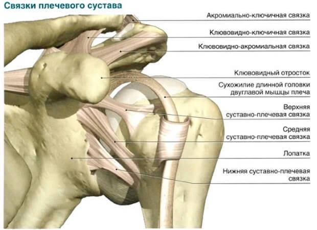 Розтягнення зв'язок плечового суглоба: симптоми, як лікувати, в домашніх умовах